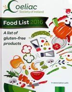 Coeliac Society Food List Ireland