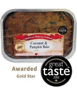 Coconut and Pumkin Bake Gluten Free Award Winning Taste