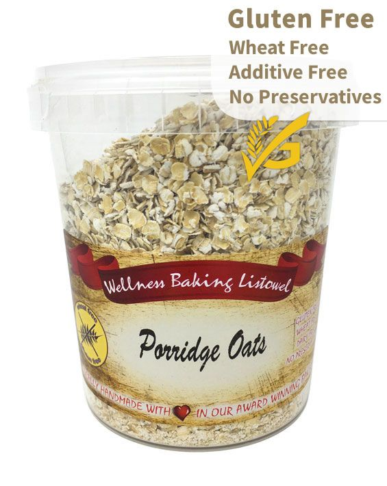 Porridge Oatmeal, Certified Irish Gluten Free, Additive Free super food